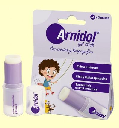 Gel Stick con Árnica y Harpagofito - Arnidol - 15 ml