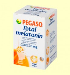 Total Melatonin - Melatonina 1 mg - Pegaso - 180 comprimidos