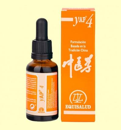 Yap 4 - Disarmonía de bazo-estómago pi wei bu he - Equisalud - 31 ml