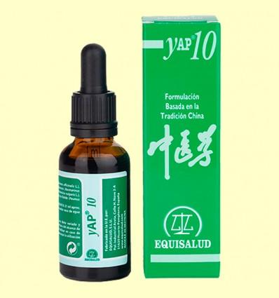 Yap 10 - Estancamiento de qi de higado gan qi yue ji - Equisalud - 31 ml