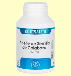 Aceite de Semilla de Calabaza 1.000 mg - Equisalud - 120 cápsulas