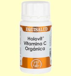Holovit Vitamina C Orgánica - Equisalud - 50 cápsulas