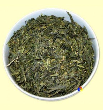 Té Verde Sencha Premium Desteinado Ecológico - El Mundo del Té - 100 gramos