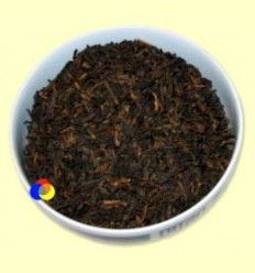 Té Negro Pu-Erh aromatizado Vainilla - El Mundo del Té - 100 gramos