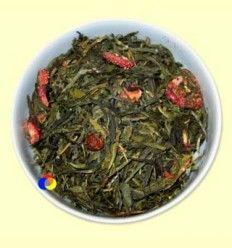 Té Verde aromatizado Primavera Verde - El Mundo del Té - 100 gramos