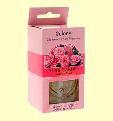 Recambio para el difusor Electrico de Fragancia - Aroma Rosa - Colony - 34 ml