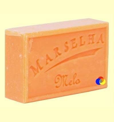 Pastilla Jabón Natural Melón - Marselha - 125 gramos