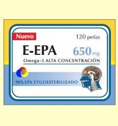 E-EPA - Omega-3 con 90% de EPA 650 mg – Dieticlar – 120 perlas