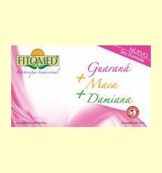 Fitomed Fórmula Sexo - Guaraná + Maca + Damiana - Dieticlar - 20 ampollas