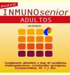 Inmunosenior Adultos - Defensas - Dieticlar - 60 cápsulas