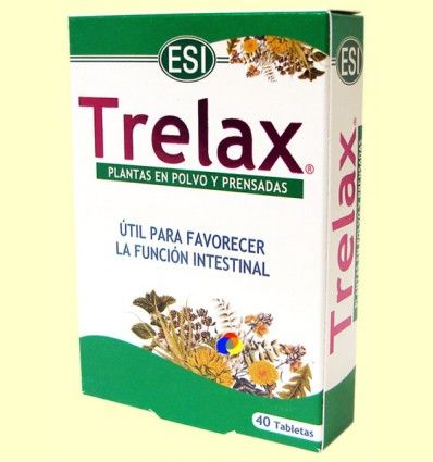 Trelax - Equilibrio Intestinal - Laboratorios ESI - 40 tabletas