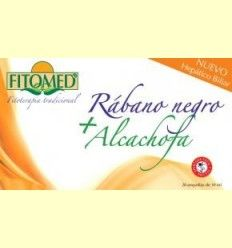Fitomed HB - Rábano negro + alcachofa - Dieticlar - 20 ampollas