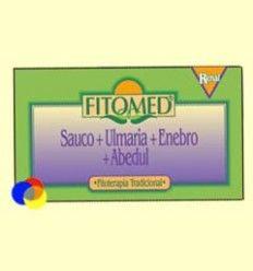 Fitomed R - Saúco + Ulmaria + Enebro + Abedul - Dieticlar - 20 ampollas