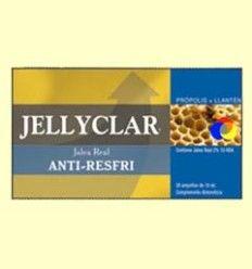 Jalea Real Anti-Resfri Jellyclar - Jalea Real 2% 10 HDA - Dieticlar - 20 ampollas *