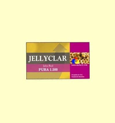 Jalea Real Pura 1500 mg Jellyclar - Jalea Real 2% 10 HDA - Dieticlar – 20 ampollas