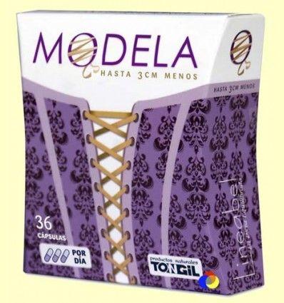 Modela - Reduce la grasa abdominal - Tongil - 36 cápsulas