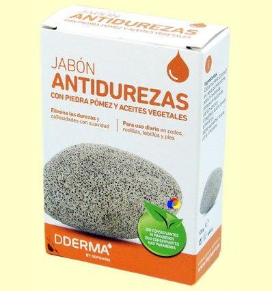 Jabón Antidurezas con Piedra Pomez - Dderma - 125 gramos
