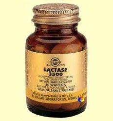 Lactasa 3500 - Ayudas digestivas y Probióticos - Solgar - 30 comprimidos masticables