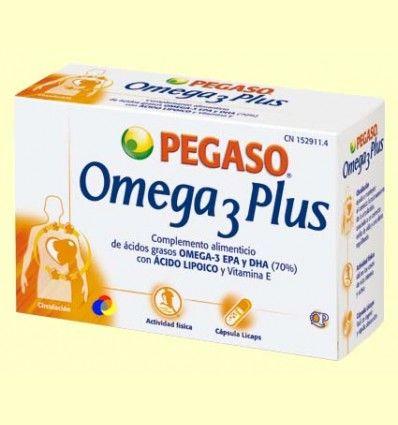 Omega 3 Plus - Pegaso - 40 cápsulas ******