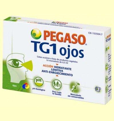 TG1 Ojos - Salud ocular - Pegaso - 10 monodosis