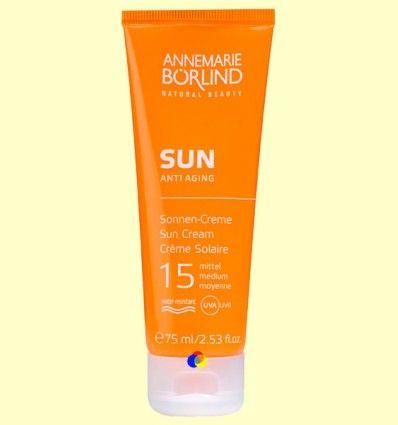 Sun Crema Solar Facial IP 15 Medio - Anne Marie Börlind - 75 ml