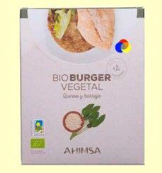 Hamburguesa Vegetal Quinoa y Borraja Bio - Ahimsa - 150 gramos
