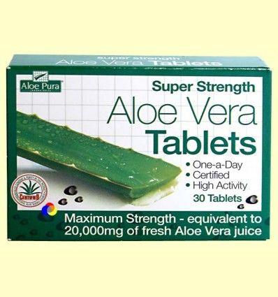 Aloe Vera Potencia Máxima - Evicro Madal Bal - 30 tabletas