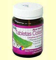 Aloe Vera Limpieza de Colon - Evicro Madal Bal - 30 tabletas