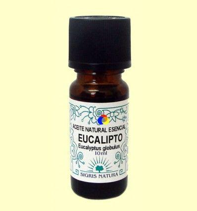 Eucalipto Aceite Natural Esencial - Sigris - 10 ml