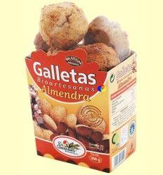 Galletas Bioartesanas Almendra - El Granero - 250 gramos