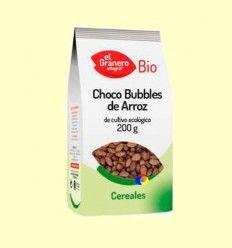 Choco Bubbles de Arroz Bio - El Granero - 200 gramos