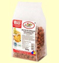 Bolitas de Cereales Bio con Chocolate - El Granero - 200 gramos