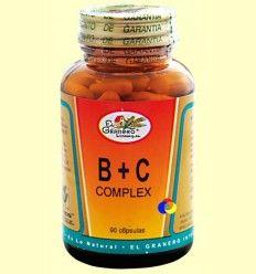 B+C Complex - El Granero - 90 cápsulas