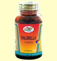 Chlorella Forte - El Granero - 90 cápsulas