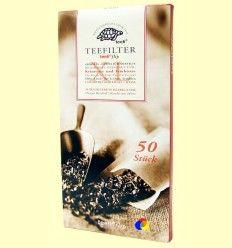 Filtros de Té Extra Finos - Teeli - 50 filtros tamaño XL