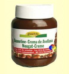 Crema Avellanas y Chocolate - Granovita - 400 gramos