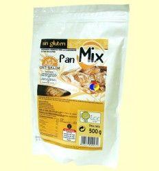 Pan Mix - Harina para Pan Sin Gluten - Int Salim - 500 gramos