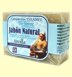 Jabón Natural Arcilla - Bio Femme - Ynsadiet