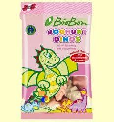 Caramelos de Goma Yogur Dinos - Bio Bon - 100 gramos +