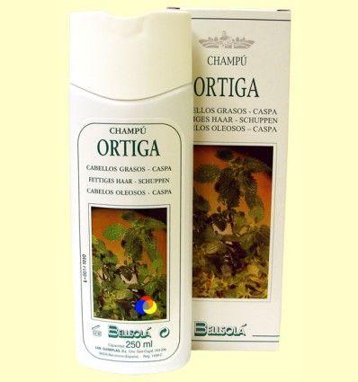 Champú Ortiga - Cabellos Grasos - Bellsolá - 250 ml