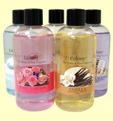 Recambio Difusor Aromas Varillas - Rose Garden - Colony - 250 ml