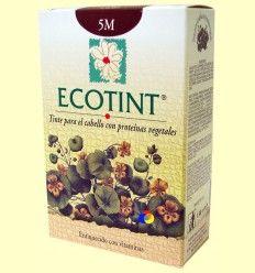 Tinte para el cabello Castaño Claro Caoba 5M - Ecotint - 130 ml