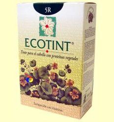 Tinte para el cabello Castaño Claro Cobrizo 5R - Ecotint - 130 ml