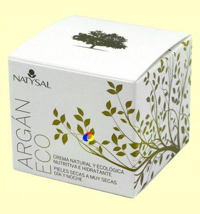 Crema de Argán ECO - Anti-edad - Natysal - 50 ml