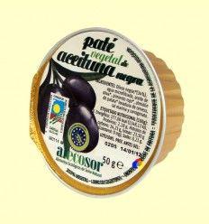 Paté Vegetal de Aceituna Negra - Soria Natural - 50 gramos