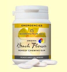 Chicles Originales Flores de Bach - Tranquilidad y Calma - Lemon Pharma - 60 gramos