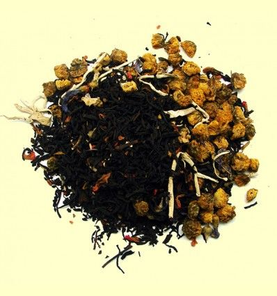Té Negro aromatizado Ponche de Huevo - El Mundo del Té - 100 gramos