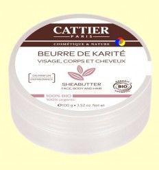 Manteca de Karité Bio - Cattier - 100 gramos