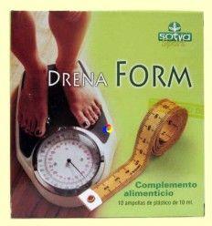 Drenaform - Celulitis - Sotya - 10 ampollas