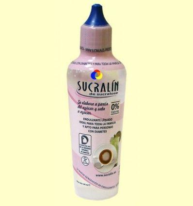 Edulcorante Líquido Sucralín de Sucralosa - 84 ml
